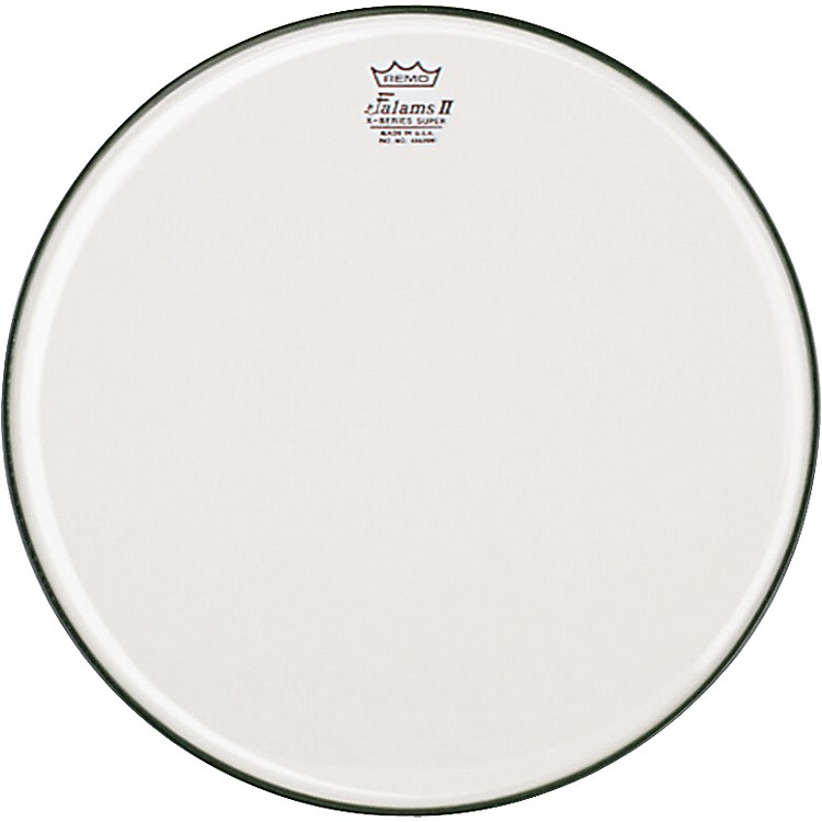 Remo K-Falam Smooth White Snare Side Drum Head  14 in.