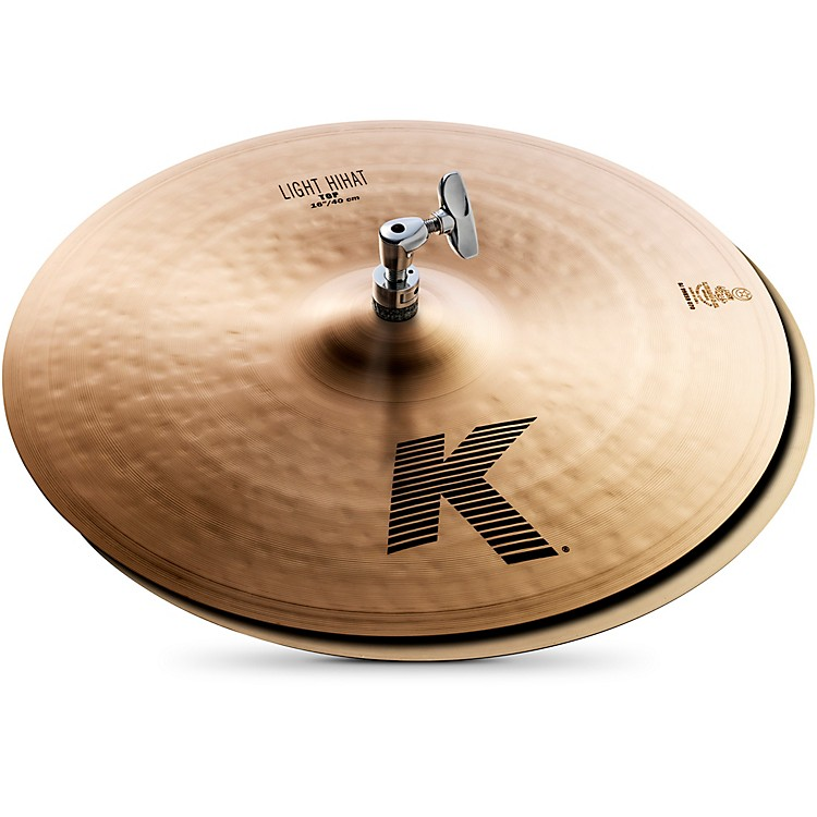 Zildjian K Light Hi-Hat Pair Cymbal 16 in.