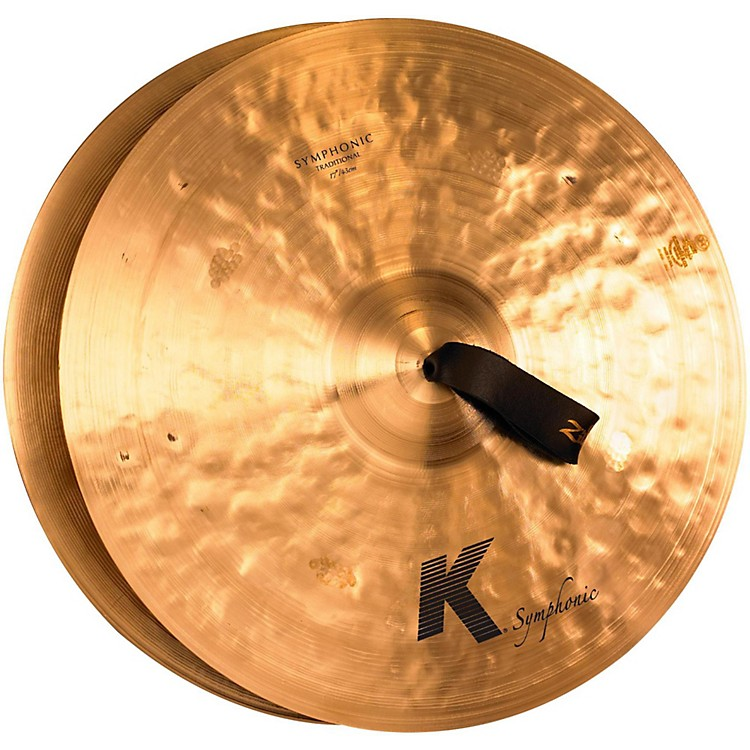 Zildjian K Symphonic Orchestral Crash Cymbal Pair 17 in.