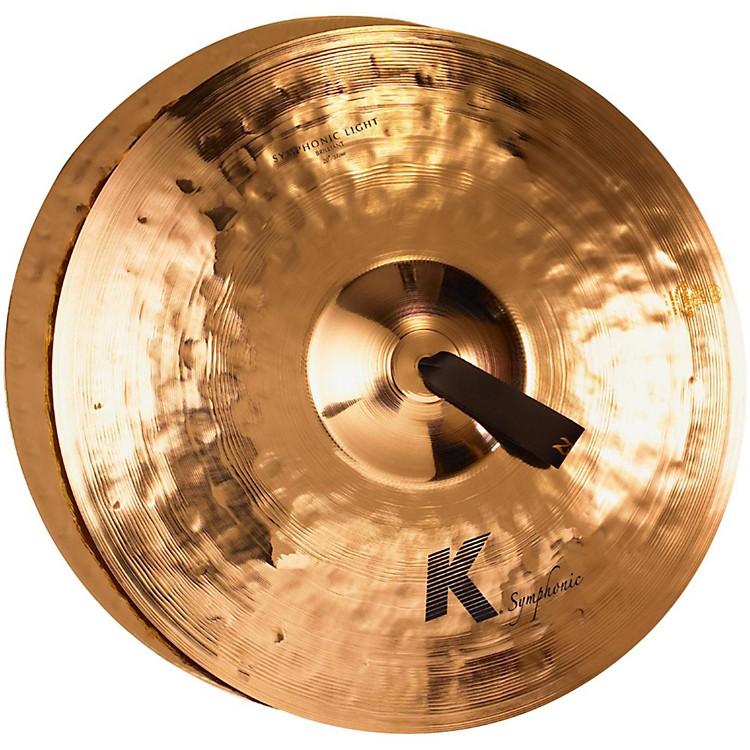 ZildjianK Symphonic Orchestral Light Brilliant Crash Cymbal Pair20 in.Brilliant