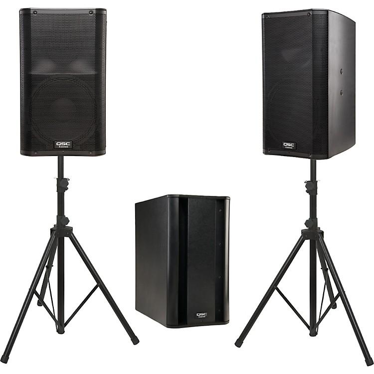 QSCK12 Powered Speaker Package