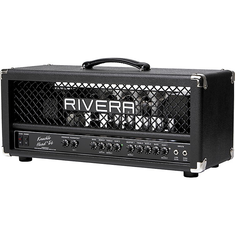 RiveraK120TRE Knucklehead Tre 120W Tube Guitar Amp Head