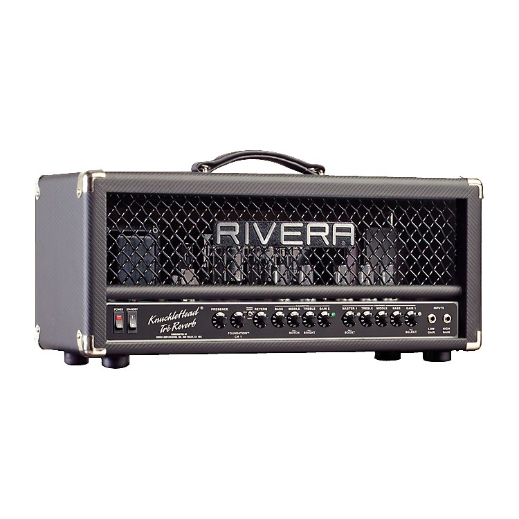 Rivera K120TRE Knucklehead Tre 120W Tube Guitar Amp Head with Reverb