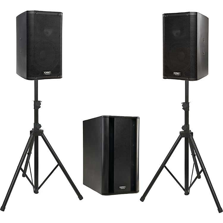 QSCK8 / KSub Powered Speaker Package