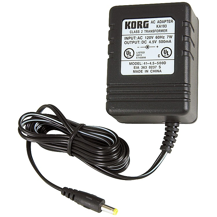 KorgKA193 4.5V Adapter for PX4, PX4B, and PXR4