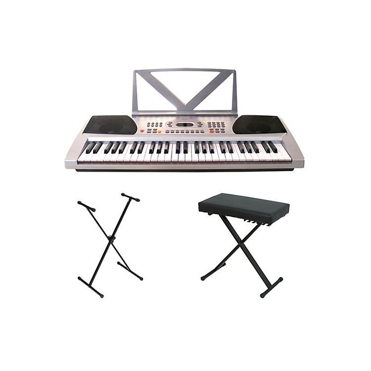 Huntington kb54 portable keyboard w stand and bench Keyboard stand and bench