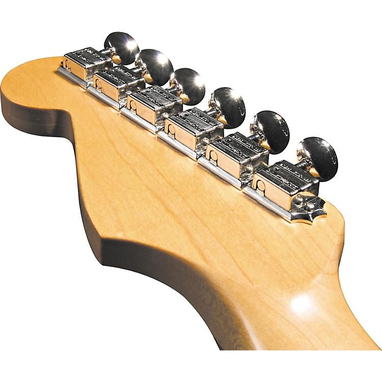 KlusonKF6BL F-Style Locking Guitar Tuning Machines - 6-In-line Bolt BushingNickel