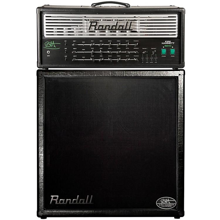 RandallKH103 Kirk Hammett Signature 120W Tube Guitar Amp Half Stack