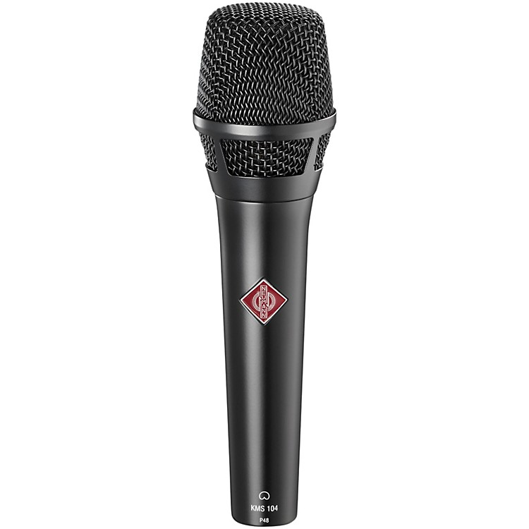 Neumann KMS 104 Handheld Vocal Condenser Microphone Black