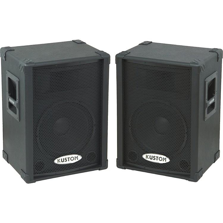 Kustom PAKPC12P Powered Speaker Pair