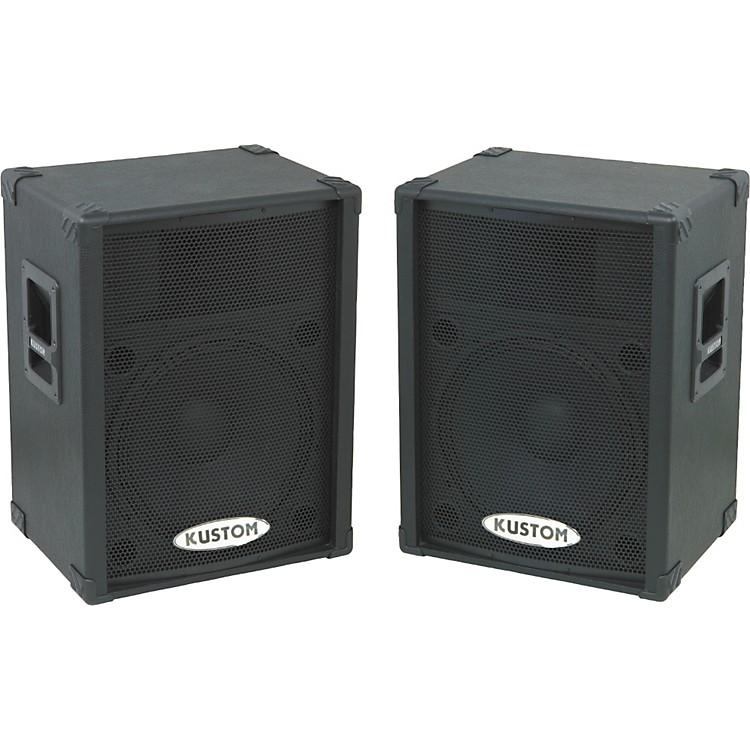 Kustom PAKPC15P Powered Speaker Pair