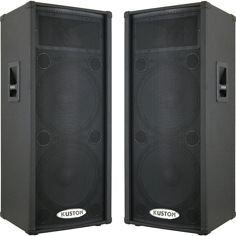 Kustom PAKPC215HP Powered Speaker Pair