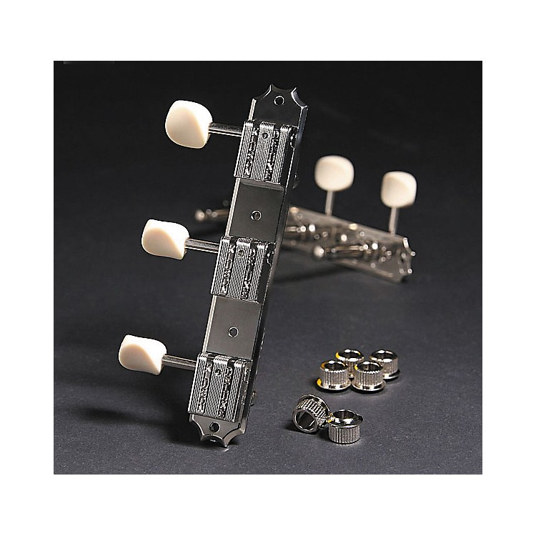 Kluson KR3 Keystone Guitar Tuning Machines - 3 On a Rail