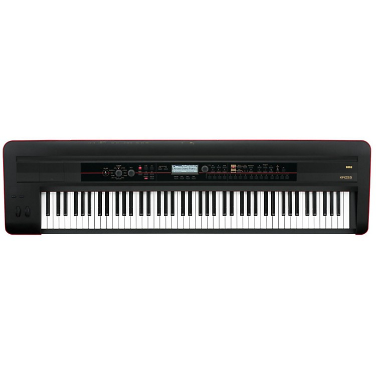 Korg KROSS 88 Keyboard Workstation (Red/Black Edition)