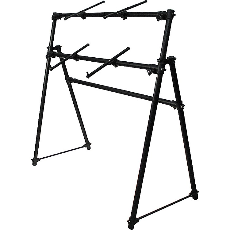 On-Stage StandsKS-7902 2-Tier A Frame Keyboard Stand