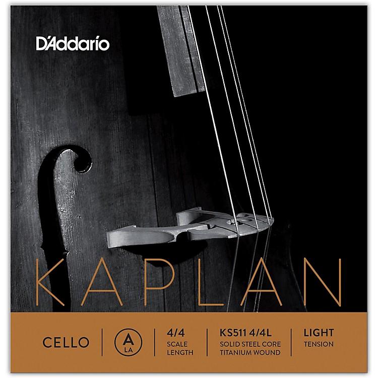 D'AddarioKS511 Kaplan Solutions 4/4 Size Cello A String4/4 Size Light
