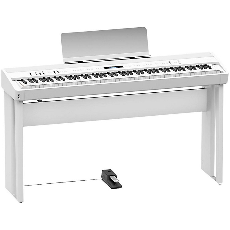 Roland KSC-90-WH Digital Piano Stand for FP-90-WH White