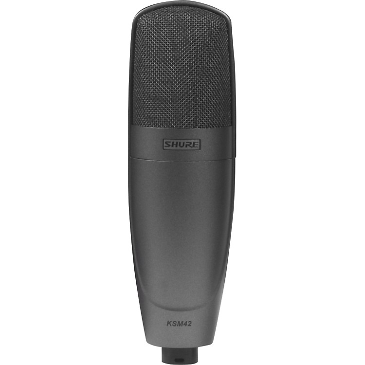 Shure KSM42 Cardioid Condenser Mic SABLE GRAY