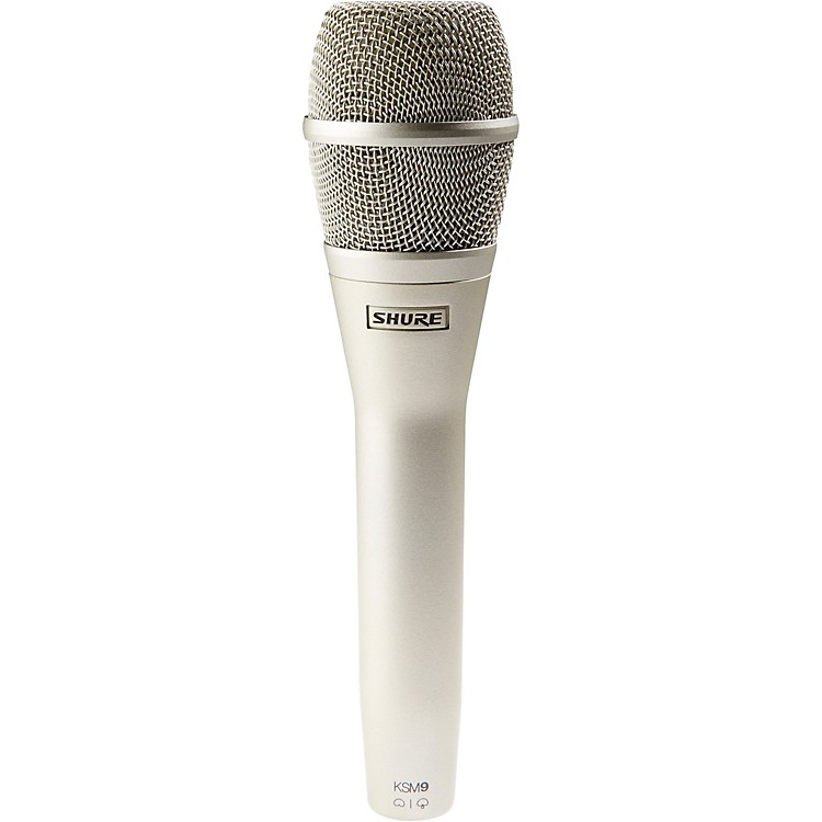 Shure KSM9 Dual Diaphragm Performance Condenser Microphone Champagne