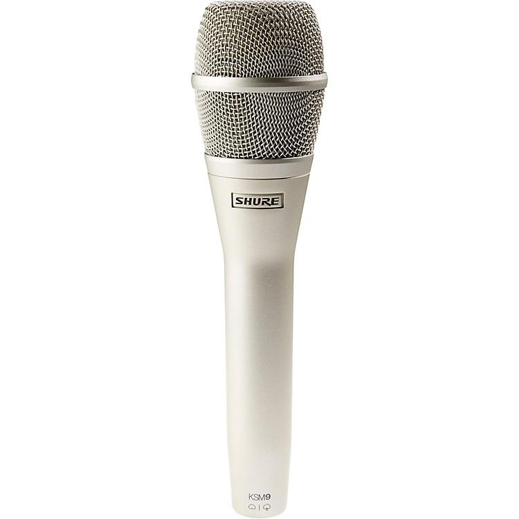 ShureKSM9 Dual Diaphragm Performance Condenser MicrophoneChampagne