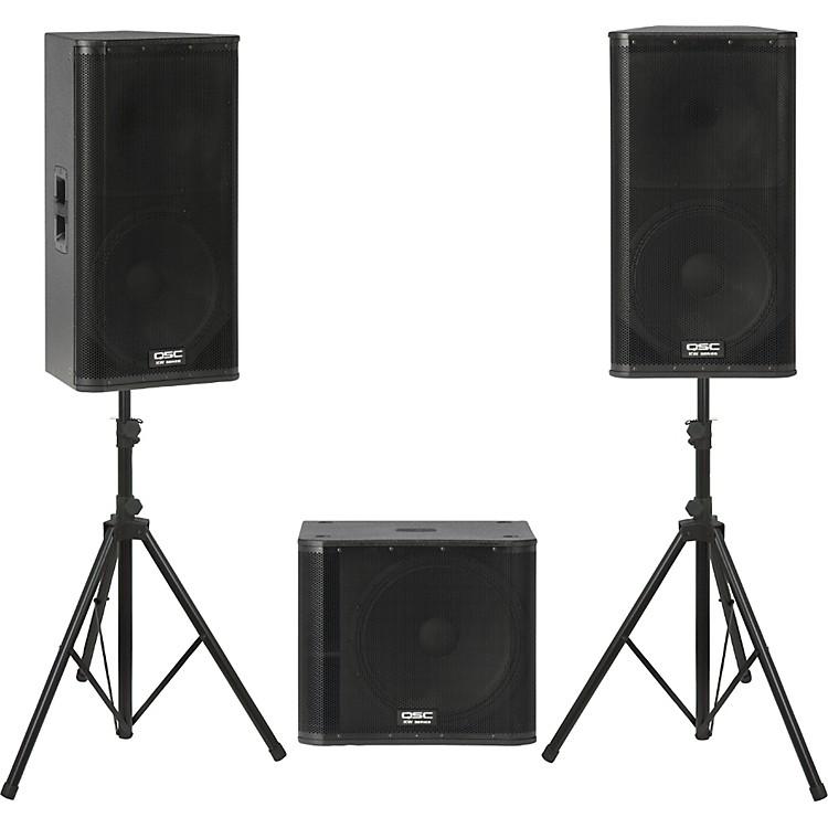 QSCKW152 /  KW181 Powered Speaker Package