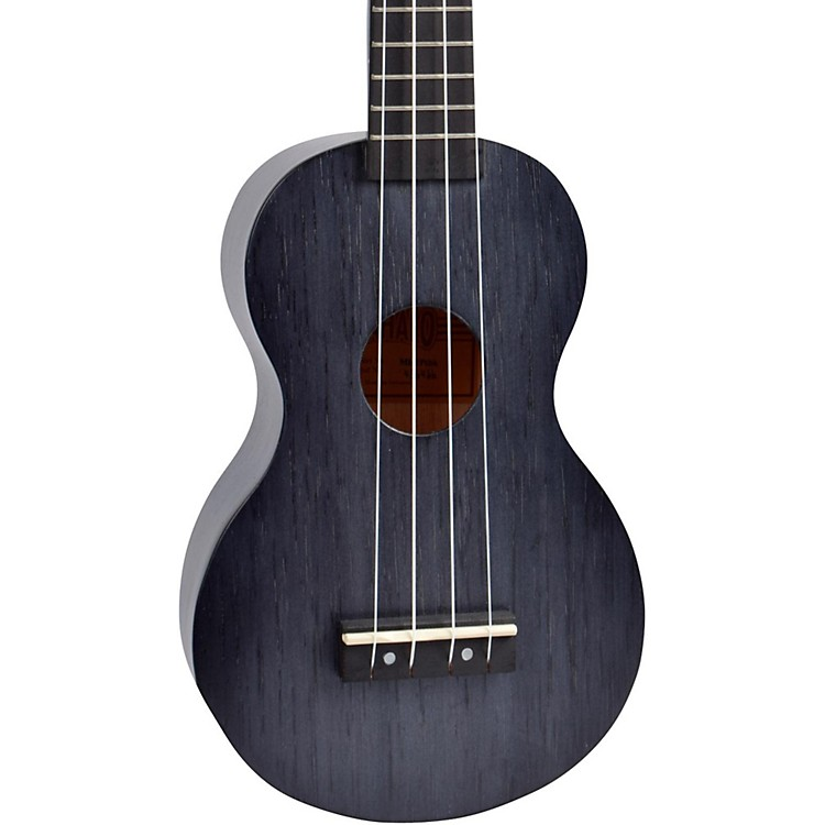 Mahalo Kahiko Plus Series MK1P Soprano Ukulele Transparent Black