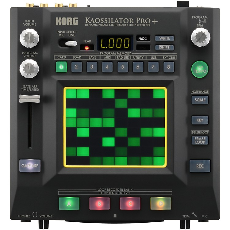 Korg Kaossilator Pro+ Dynamic Phrase Synthesizer/Loop Recorder