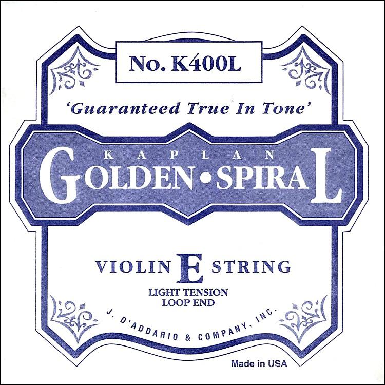 D'AddarioKaplan Golden Spiral Series Violin E String