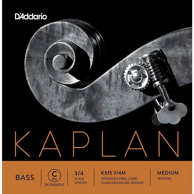 D'AddarioKaplan Series Double Bass C (Extended E) String3/4 Size Medium