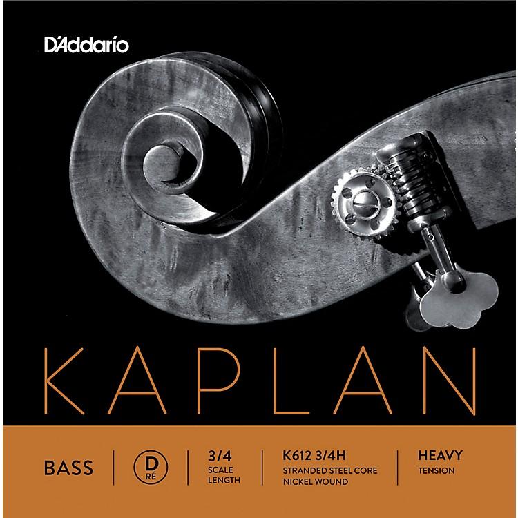 D'AddarioKaplan Series Double Bass D String3/4 Size Heavy
