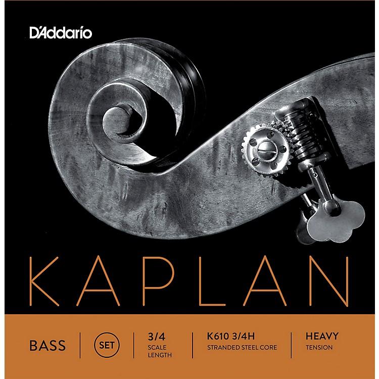 D'AddarioKaplan Series Double Bass String Set3/4 Size Heavy