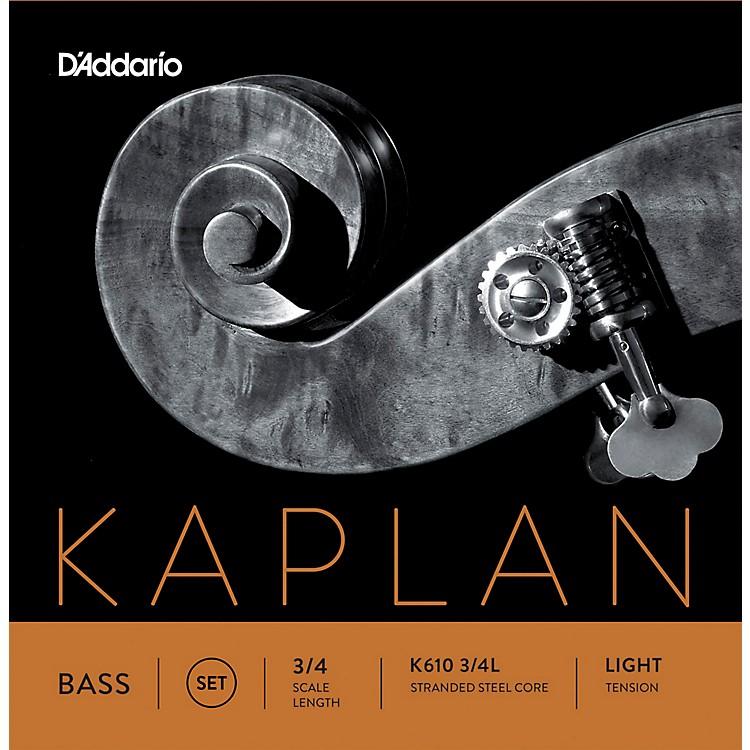 D'AddarioKaplan Series Double Bass String Set3/4 Size Light