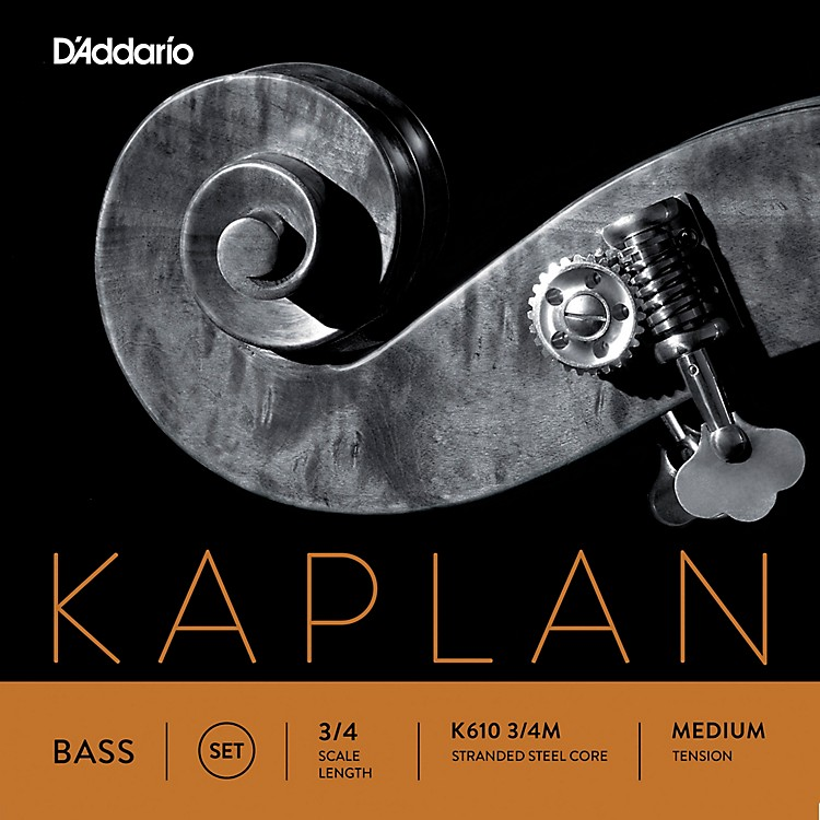D'Addario Kaplan Series Double Bass String Set 3/4 Size Medium