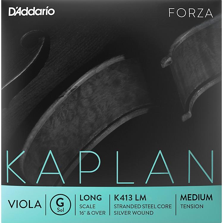 D'AddarioKaplan Series Viola G String16+ Long Scale Medium