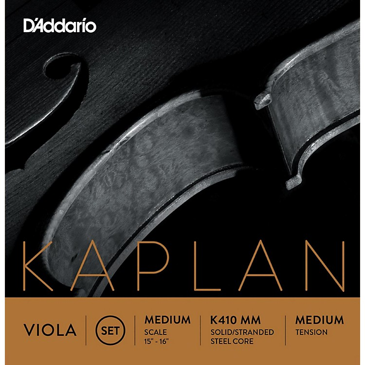 D'Addario Kaplan Series Viola String Set 15+ Medium Scale