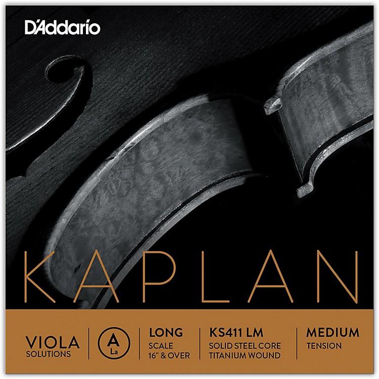 D'AddarioKaplan Solutions Series Viola A String16+ Long Scale Medium