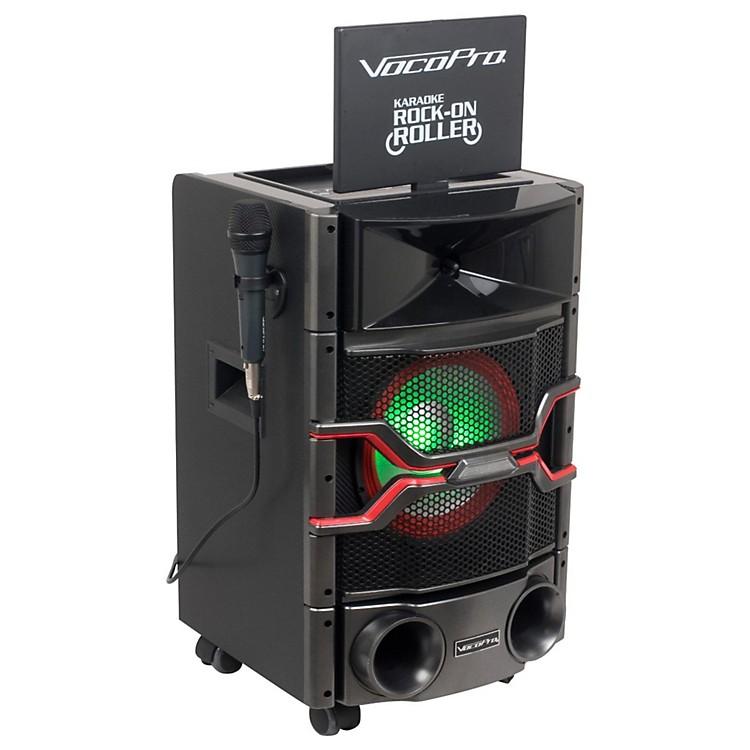 VocoProKaraoke Rock-On-Roller DVD Karaoke System with 10