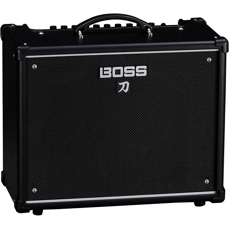 boss katana ktn 50 50w 1x12 guitar combo amplifier black music123. Black Bedroom Furniture Sets. Home Design Ideas