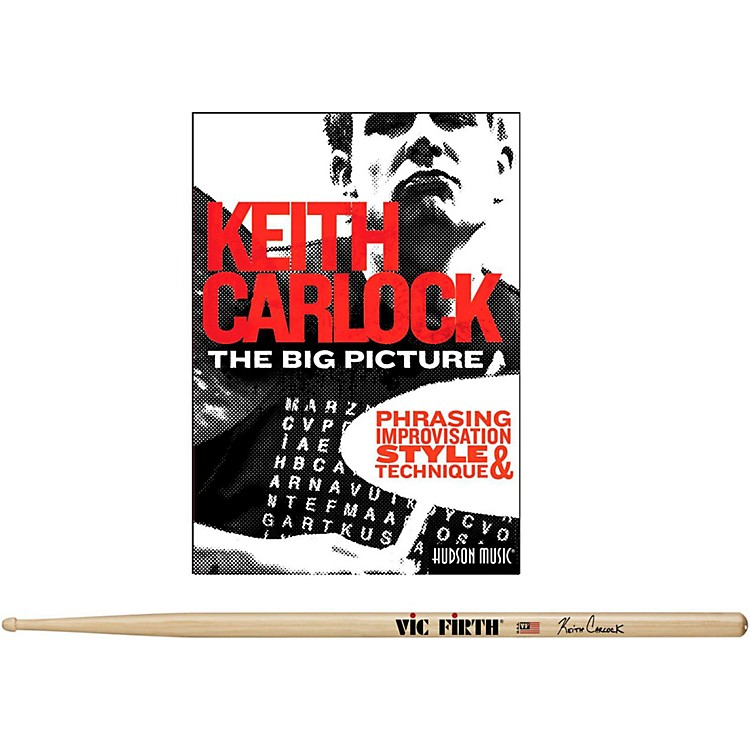 Hudson Music Keith Carlock Drumstick DVD Pack with Free Pair of Sticks