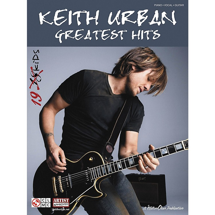 Cherry LaneKeith Urban: Greatest Hits (Piano/Vocal/Guitar Songbook)