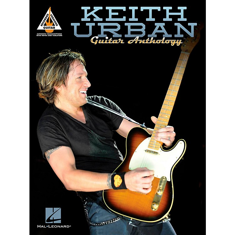 Hal Leonard Keith Urban Guitar Anthology TAB Songbook