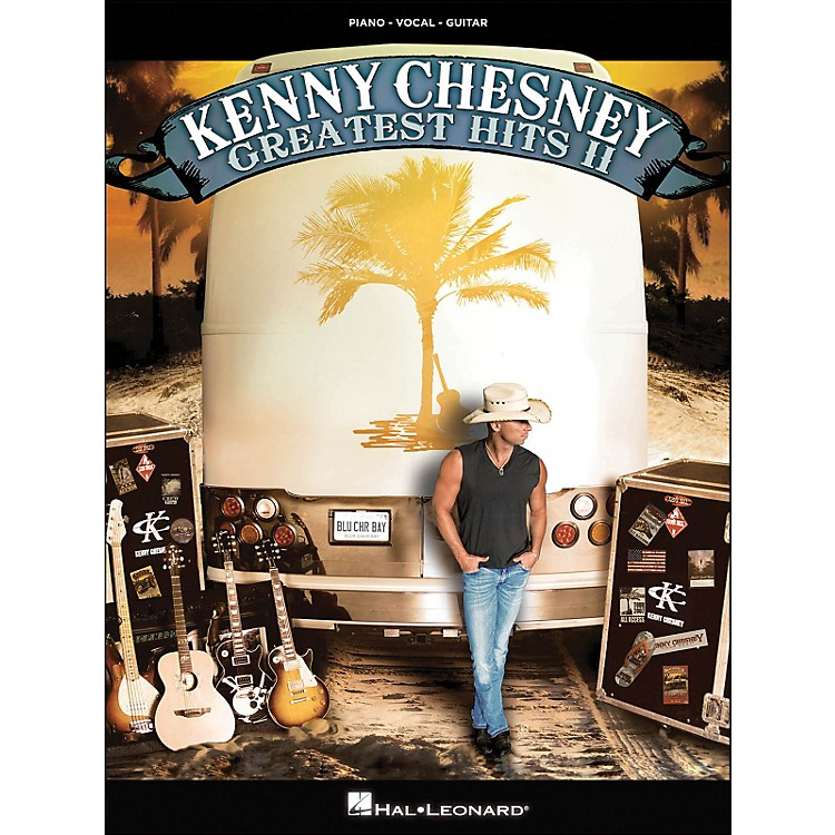 Hal LeonardKenny Chesney Greatest Hits II arranged for piano, vocal, and guitar (P/V/G)