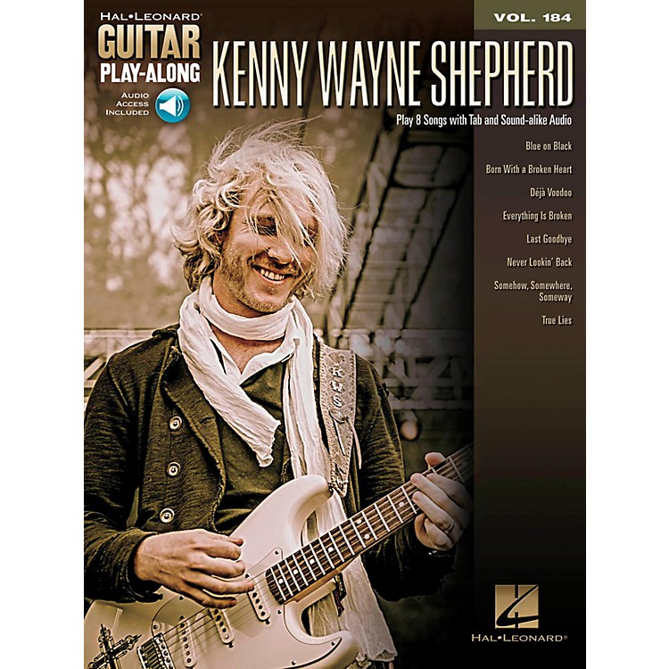 Hal Leonard Kenny Wayne Shepherd - Guitar Play-Along Vol. 184 (Book/Audio Online)