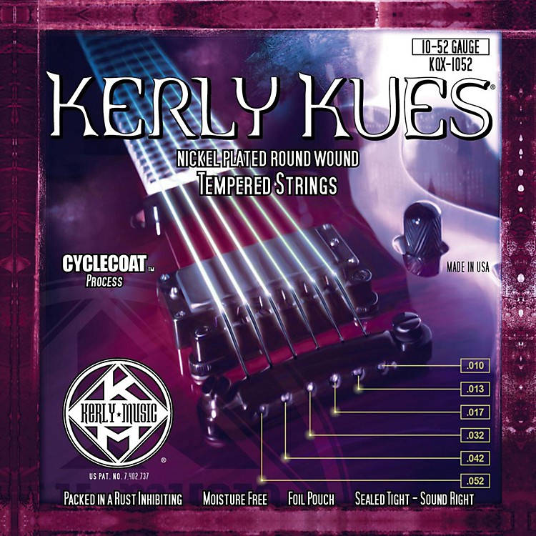 Kerly MusicKerly Kues Nickel Wound Electric Guitar Strings - Light Top Heavy Bottom