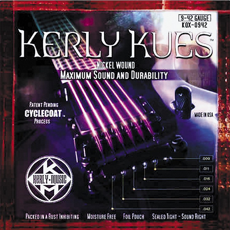 Kerly MusicKerly Kues Nickel Wound Electric Guitar Strings - Light