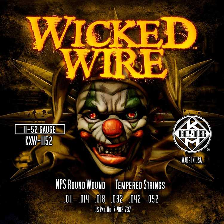 Kerly MusicKerly Wicked Wire NPS Electric Hybrid 11-52