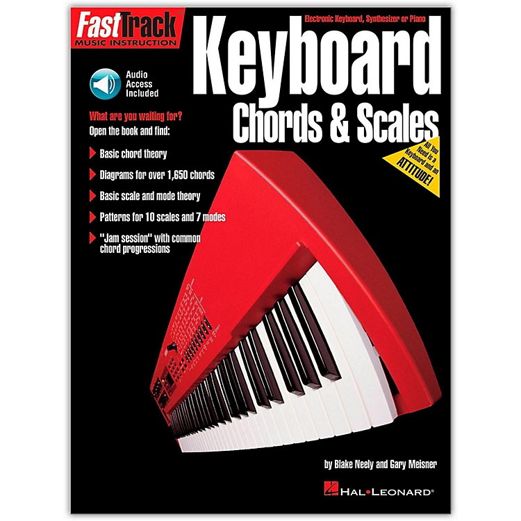 Hal LeonardKeyboard Chords and Scales Book/CD