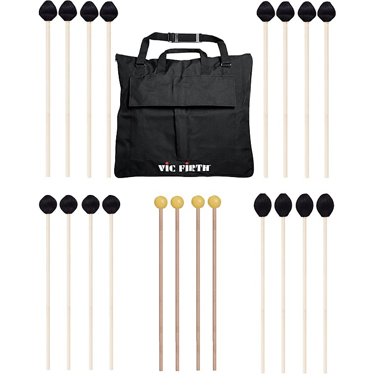 Vic FirthKeyboard Mallet 10-Pack w/ Free Mallet Bag