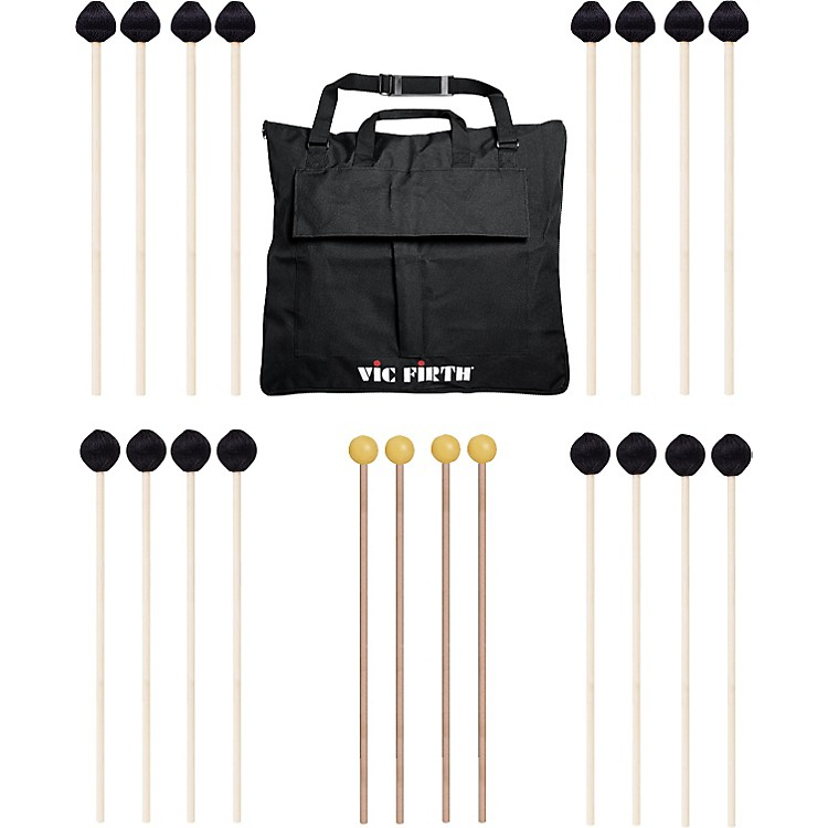 Vic FirthKeyboard Mallet 10-Pack w/ Free Mallet BagM182(4), M188(4)