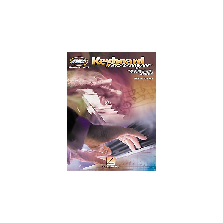 Hal Leonard Keyboard Technique Book